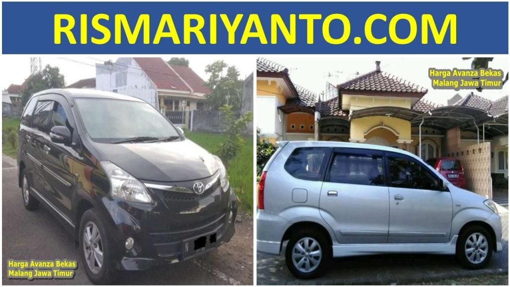 Harga Avanza Bekas Malang Jawa Timur