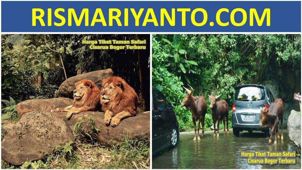 Harga Tiket Taman Safari Cisarua Bogor Terbaru 2020