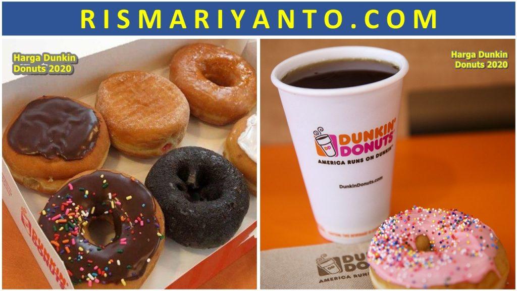 Harga Dunkin Donuts 2020